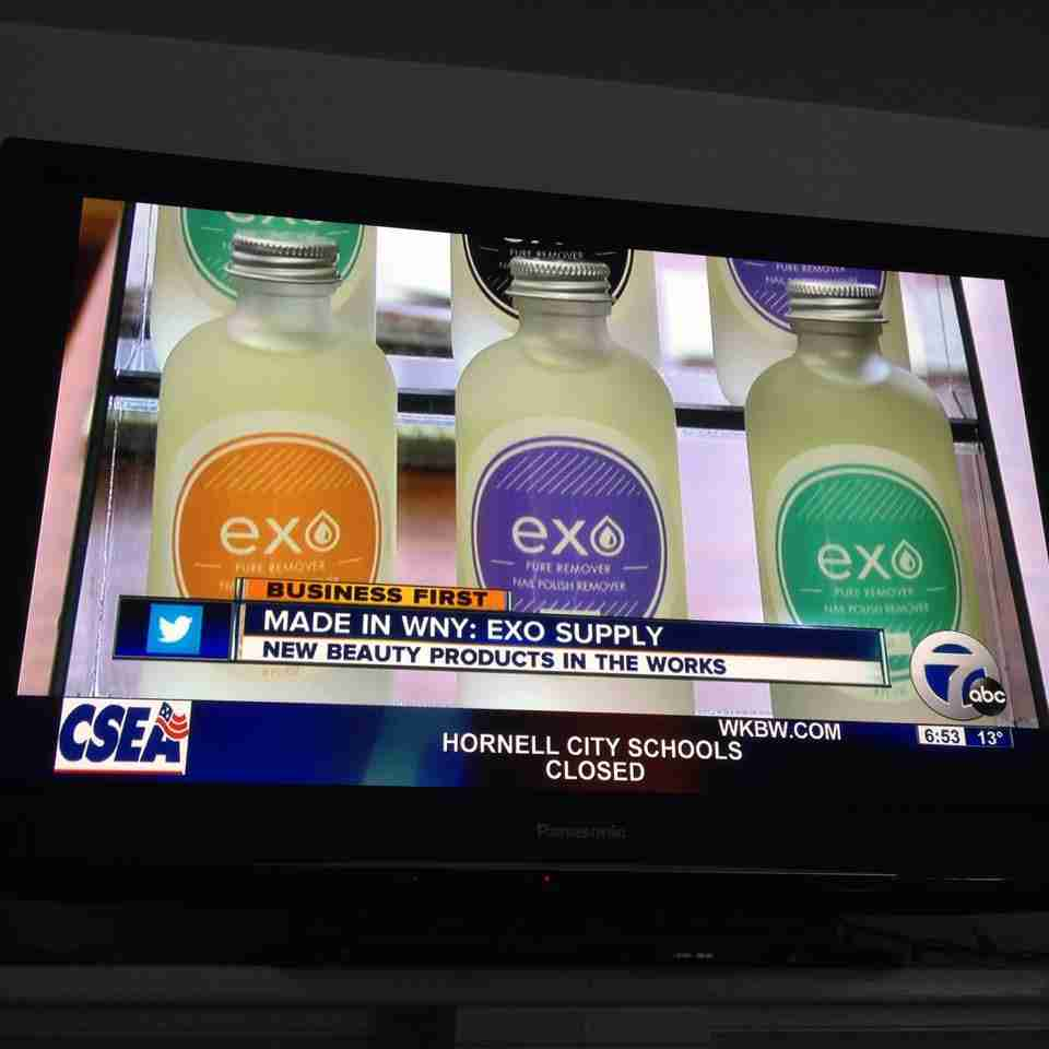 Business First, WKBW Ch. 7 – EXO Supply